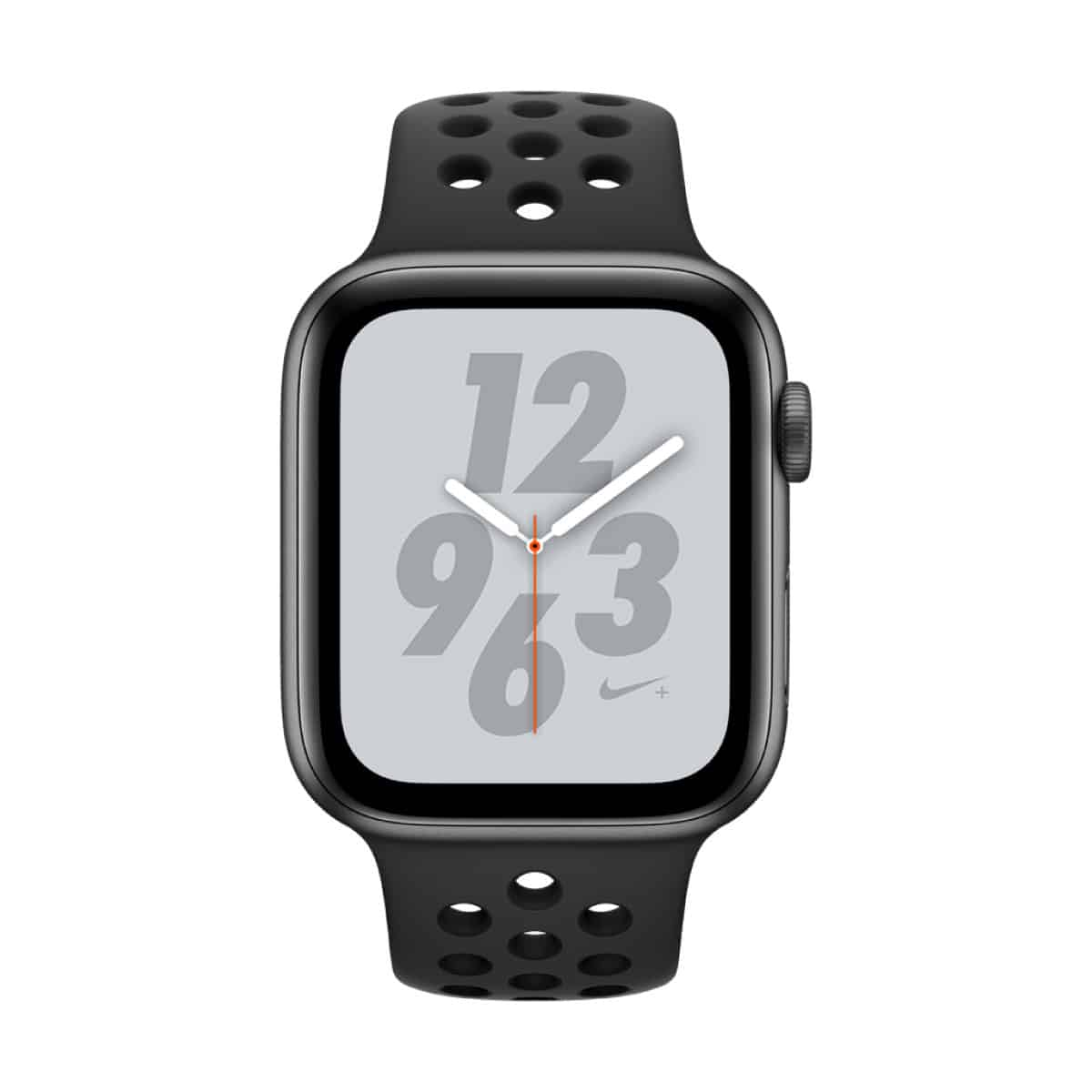 WatchSeries4-44mm-AluminumSpaceGray-NikeSportBand-AnthraciteBlack-34R-SCREEN